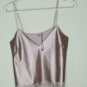 3/$30 Zara sleeveless faux top